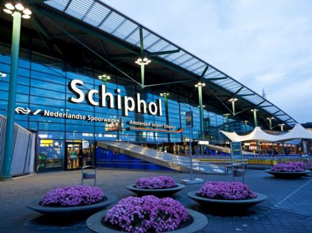 Amsterdam-Schiphol airport ATM Bitcoin