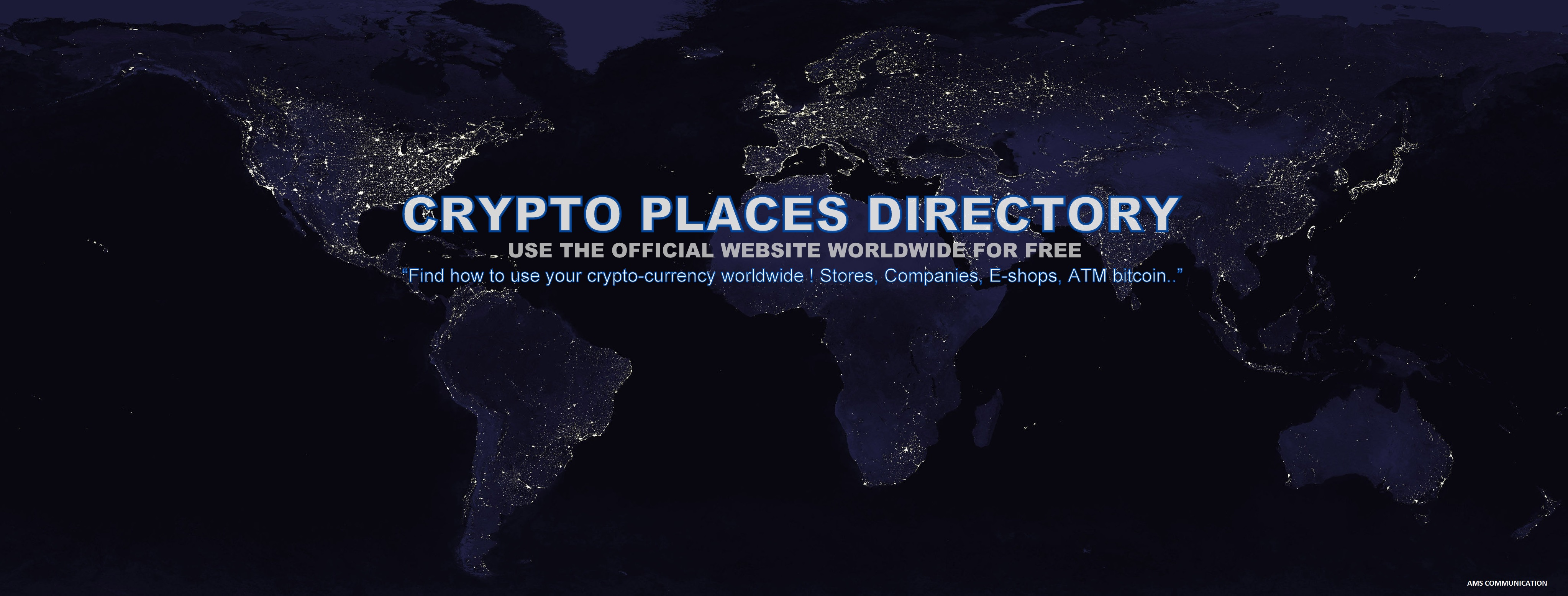Bitcoin, Ethereum, Litecoin, Bitcoin Cash : find all ATM with Crypto-Places Directory