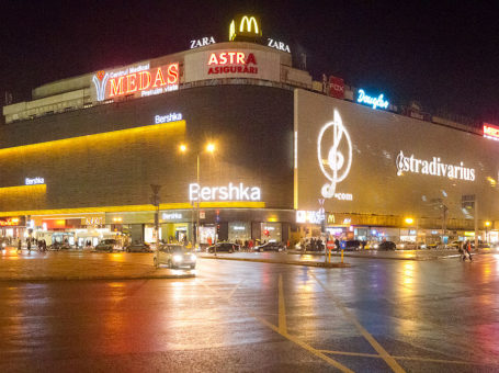 UNIREA SHOPPING CENTER BUCHAREST