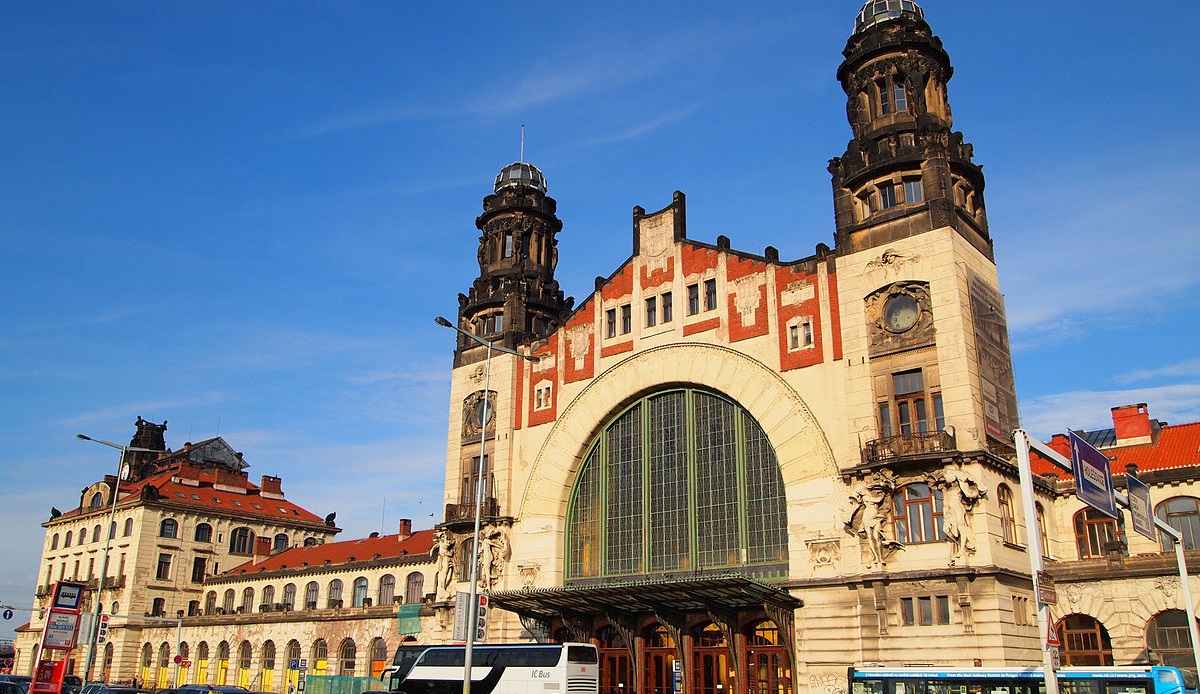 CENTRAL STATION - PRAGUE CZECH REPUBLIC